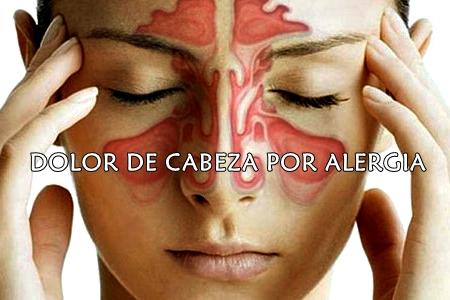 Dolor por alergia
